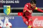 Nguyễn Quang Hải xuất sắc như thế nào trong mùa 2017/18?