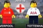 Trận hòa kịch tính giữa Liverpool và Tottenham theo phong cách lego