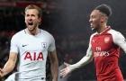 5 điểm nóng Tottenham vs Arsenal: Kane & Aubameyang - Ai hơn ai?