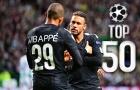 50 bàn thắng đỉnh nhất vòng bảng Champions League 2017/18