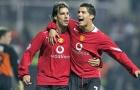 Rooney bất ngờ thừa nhận Van Nistelrooy ra đi vì Ronaldo
