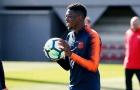 Dembele trở lại đội hình Barca trận gặp Getafe