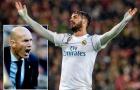 HLV Zidane lên tiếng trước tin đồn 'tống khứ' Isco khỏi Real
