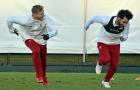Salah 'tất bật' chạy thi với đồng đội, quyết đoạt Chiếc giày vàng châu Âu
