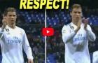 Ronaldo biểu cảm ra sao khi Benzema bỏ lỡ cơ hội ghi bàn