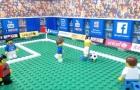 Thảm bại của Lazio trước Napoli theo phong cách lego