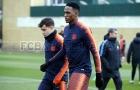 Dembele lại gặp vấn đề, vắng mặt ở buổi tập của Barca
