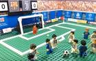 Hành trình tới vòng knock-out Champions League theo phong cách Lego