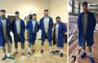 Sergio Ramos lại chơi trội với trang phục 'Super Mario'