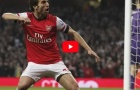 Top 5 bàn thắng cực đẹp của Mathieu Flamini cho Arsenal