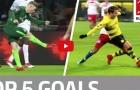 Müller, Gotze và top 5 bàn thắng đẹp nhất vòng 22 Bundesliga