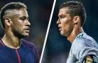 Neymar đá cặp Ronaldo ở đội hình kết hợp Real và PSG