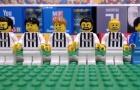 Nhìn lại trận đấu giữa Juventus và Tottenham theo phong cách Lego