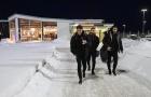 Quên giá lạnh, Arsenal hăng say tập luyện tại Thụy Điển