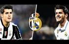 Đọ tài Alvaro Morata ở Juventus và Real trước kia