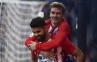 Diego Costa lại ghi bàn, Atletico Madrid tái lập khoảng cách 7 điểm với Barca