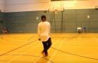 Khi bóng đá 'tấn công' sân bóng rổ