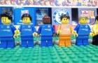 Diễn biến trận hòa giữa Chelsea và Barcelona theo phong cách lego