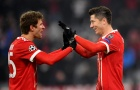 Hủy diệt Besiktas, Bayern đặt một chân vào tứ kết