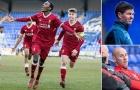 Gerrard cầm Liverpool đè bẹp M.U ở Champions League trẻ