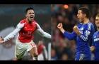 Đọ tài Eden Hazard vs Alexis Sanchez