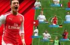 Đội hình trong mơ của Mesut Ozil
