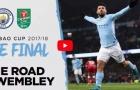 Đường đến Wembley của Man City