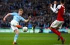 Kevin De Bruyne chơi tuyệt hay vs Arsenal