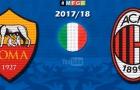 Chiến thắng của AC Milan trước AS Roma theo phong cách lego