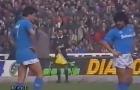 Platini và Maradona, cuộc thư hùng đỉnh cao một thời tại Seire A