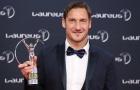 Huyền thoại của những huyền thoại, Totti được vinh danh tại 'Oscar thể thao'