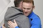 Huyền thoại Gascoigne trở lại Everton, tay bắt mặt mừng với Rooney