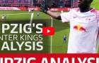 Khả năng phòng ngự phản công siêu hạng của RB Leipzig