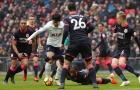 Ngôi sao châu Á của Tottenham khiến hàng thủ Huddersfield ngã rạp