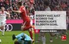 Ribery ghi dấu cột mốc đáng nhớ cho Bundesliga