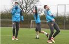 Dàn sao Arsenal phấn chấn tập luyện sau thắng lợi vang dội trước AC Milan