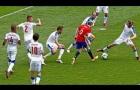 Khả năng giữ bóng đáng kinh ngạc của Andres Iniesta