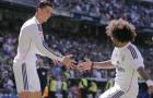 Không thể ngăn cản Cristiano Ronaldo & Marcelo
