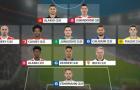 Đội hình tiêu biểu Bundesliga vòng 26: 'Hùm xám' và 'Hoàng đế xanh' thống trị