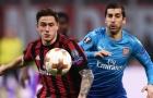 Milan 'liệt' cánh phải trước màn tái đấu Arsenal