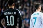 Đội hình tiêu biểu vòng 16 đội Champions League: Ronaldo dạy dỗ Neymar!