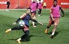 Messi vắng mặt ở buổi tập của Barca sau khi hạ sát Chelsea