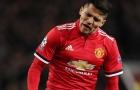 Sanchez sở hữu thống kê ác mộng tại Man Utd