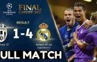 Real Madrid hủy diệt Juventus không thương tiếc mùa trước