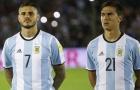 SỐC: Dybala & Icardi bị loại khỏi tuyển Argentina