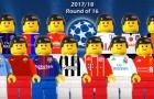 Những bàn thắng đẹp nhất tại CL theo phong cách Lego
