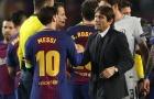 Ôm Messi hai lần, Conte bị cầu thủ Chelsea 'nóng mắt'