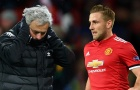 Dàn sao M.U bức xúc vì cách Mourinho đối xử với Luke Shaw