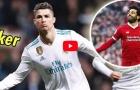 Ronaldo, Icardi, Griezmann và những cú poker trong mùa 2017/18