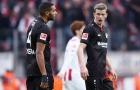 Thua sốc đội bét bảng, Leverkusen bị đá khỏi top 4
